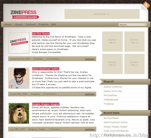 zinepress-theme
